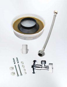 Kit de Instalación para Inodoro descarga al Piso