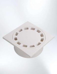 """Rejilla Plástica 2"""" con trampa 12 × 12 cm"""