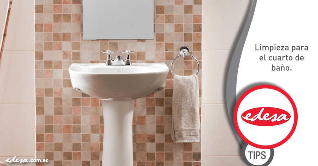 Limpieza correcta de baño
